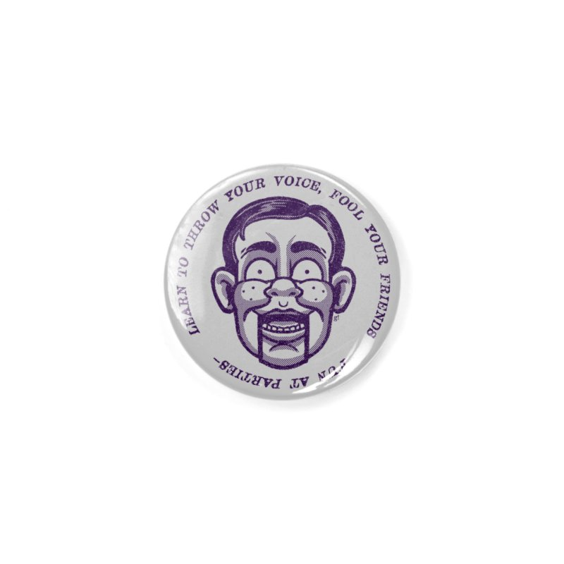Fun at parties Accessories Button by Gimetzco's Damaged Goods