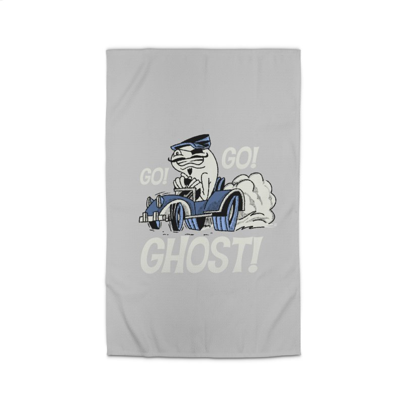 Go! Go! Ghost! Home Rug by Gimetzco's Artist Shop
