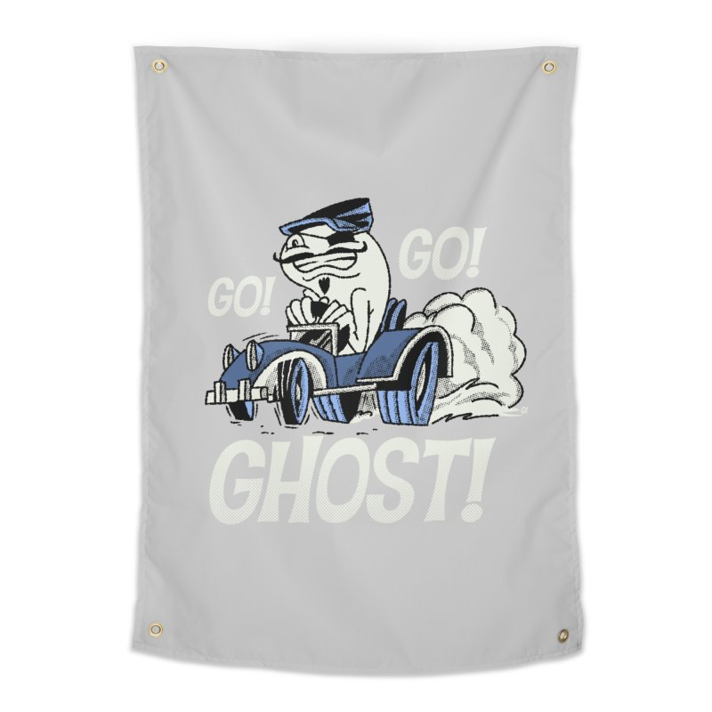 Go! Go! Ghost! Home Tapestry by Gimetzco's Artist Shop