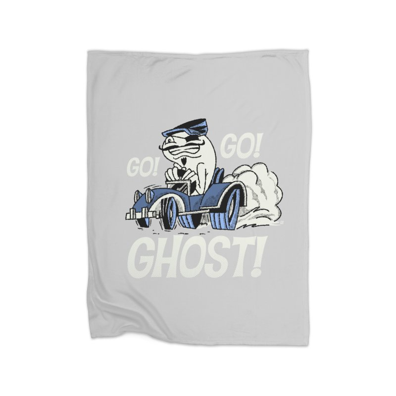 Go! Go! Ghost! Home Blanket by Gimetzco's Artist Shop