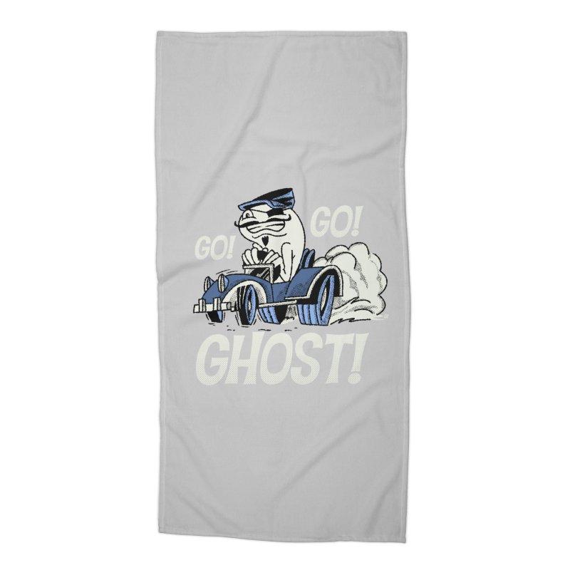 Go! Go! Ghost! Accessories Beach Towel by Gimetzco's Artist Shop