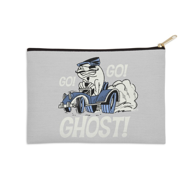 Go! Go! Ghost! Accessories Zip Pouch by Gimetzco's Artist Shop