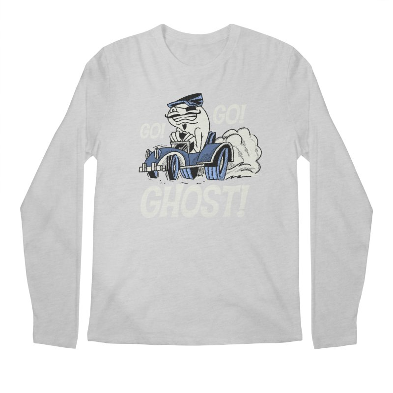Go! Go! Ghost! Men's Longsleeve T-Shirt by Gimetzco's Artist Shop