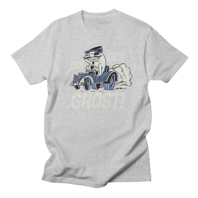 Go! Go! Ghost! Men's T-Shirt by Gimetzco's Artist Shop