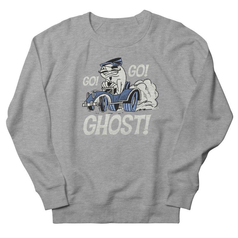 Go! Go! Ghost! Men's Sweatshirt by Gimetzco's Artist Shop