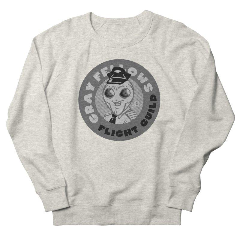 GRAY FELLOWS FLIGHT GUILD Women's Sweatshirt by Gimetzco's Artist Shop