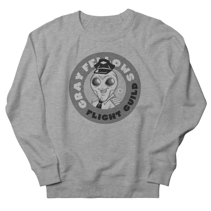 GRAY FELLOWS FLIGHT GUILD Men's Sweatshirt by Gimetzco's Artist Shop