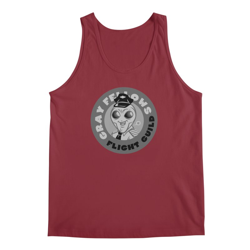 GRAY FELLOWS FLIGHT GUILD Men's Tank by Gimetzco's Artist Shop