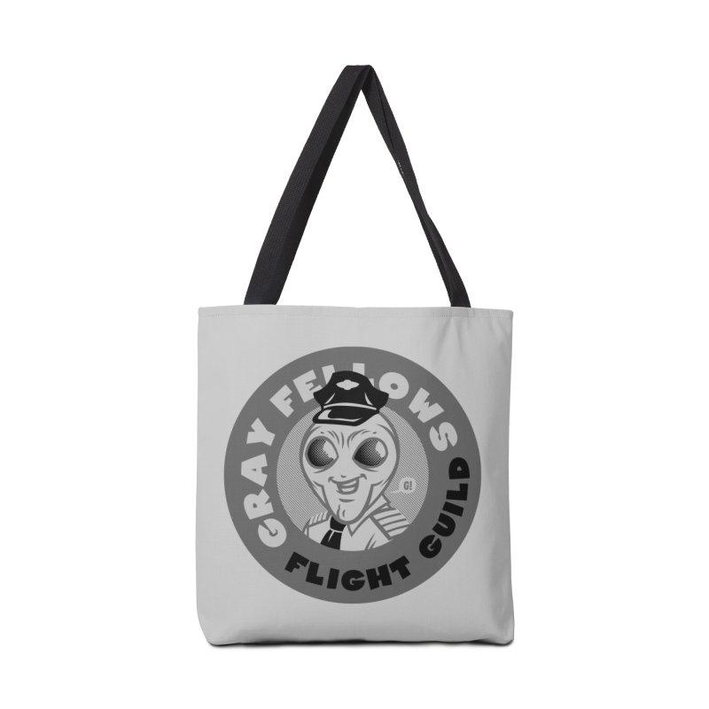 GRAY FELLOWS FLIGHT GUILD Accessories Bag by Gimetzco's Artist Shop