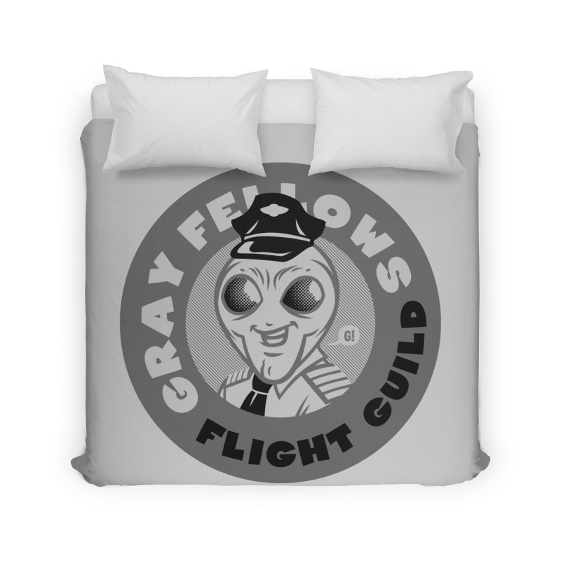 GRAY FELLOWS FLIGHT GUILD Home Duvet by Gimetzco's Damaged Goods