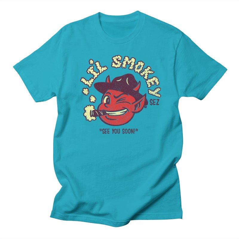 Li'L Smokey Men's T-Shirt by Gimetzco's Artist Shop