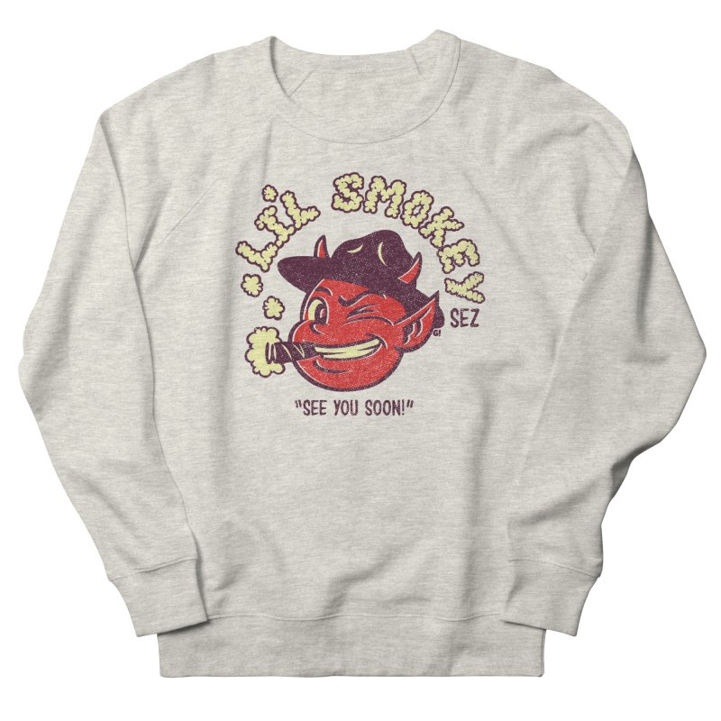 Li'L Smokey Women's Sweatshirt by Gimetzco's Artist Shop