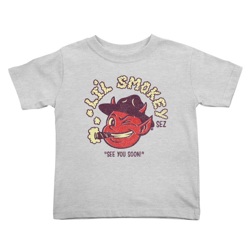 Li'L Smokey Kids Toddler T-Shirt by Gimetzco's Artist Shop