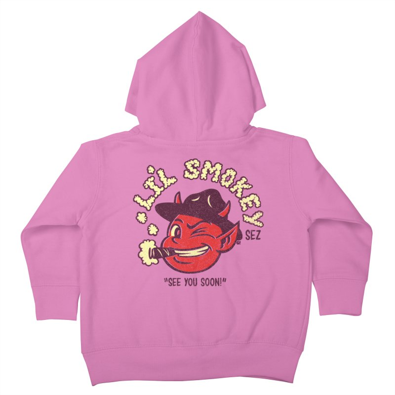 Li'L Smokey Kids Toddler Zip-Up Hoody by Gimetzco's Artist Shop