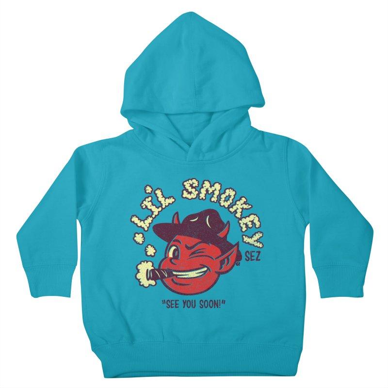 Li'L Smokey Kids Toddler Pullover Hoody by Gimetzco's Artist Shop