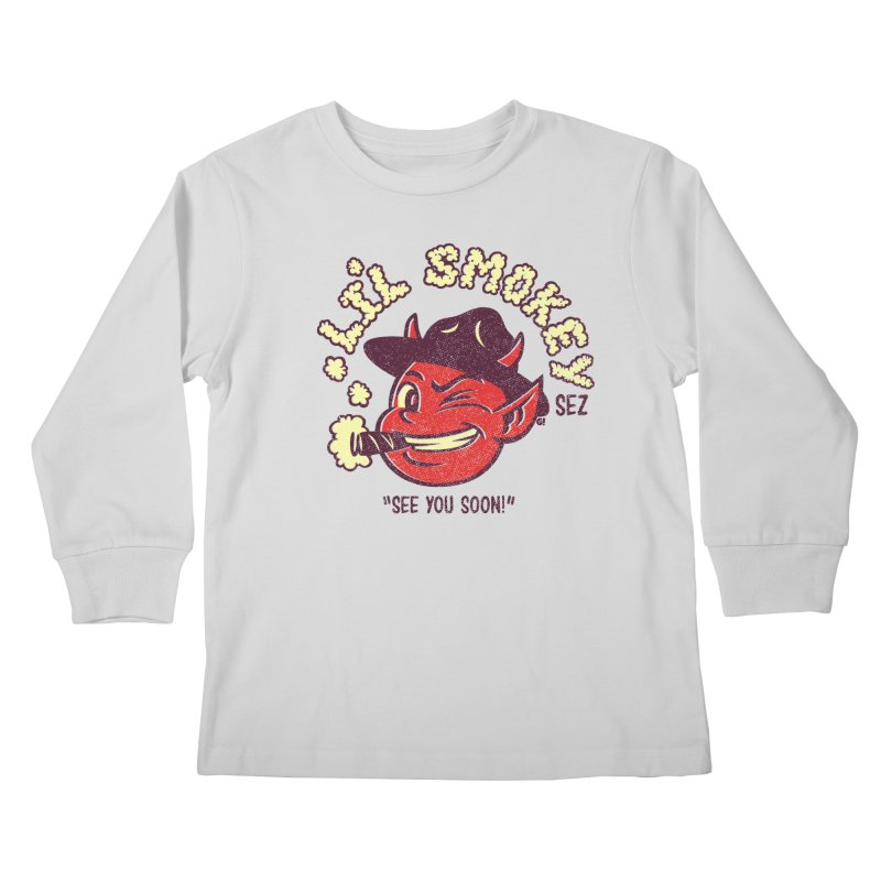 Li'L Smokey Kids Longsleeve T-Shirt by Gimetzco's Artist Shop
