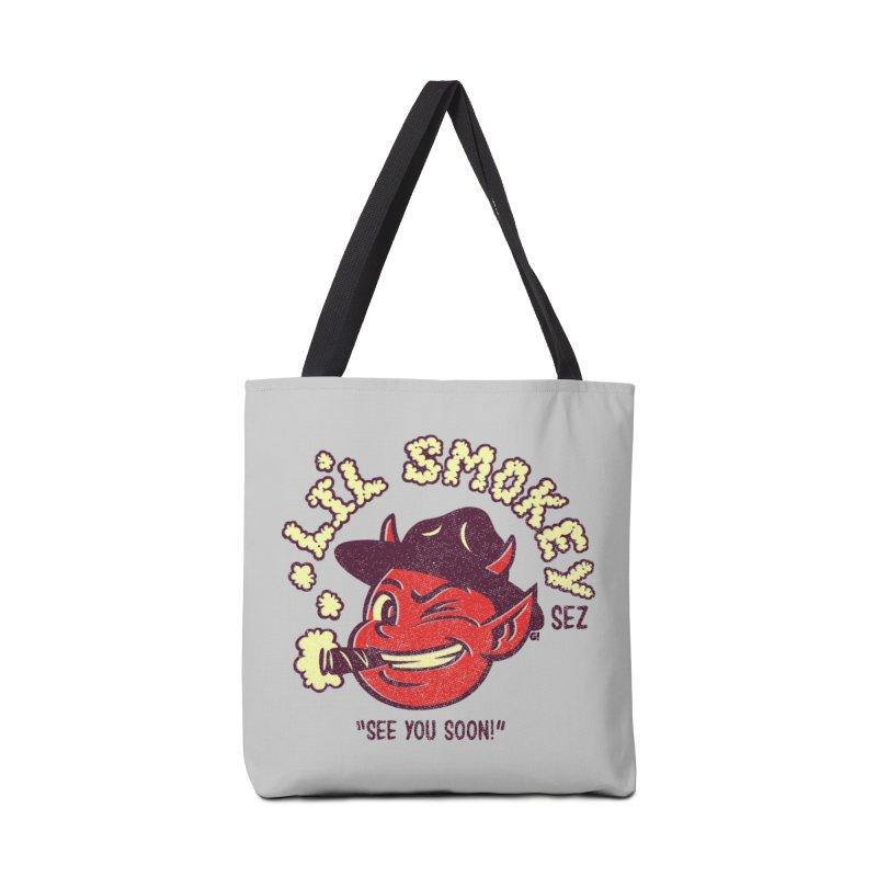 Li'L Smokey Accessories Bag by Gimetzco's Artist Shop