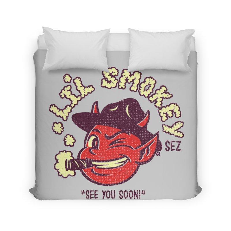Li'L Smokey Home Duvet by Gimetzco's Damaged Goods