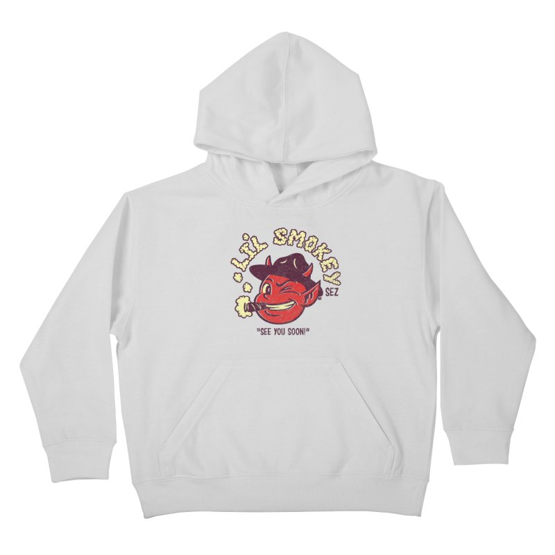 Li'L Smokey Kids Pullover Hoody by Gimetzco's Damaged Goods