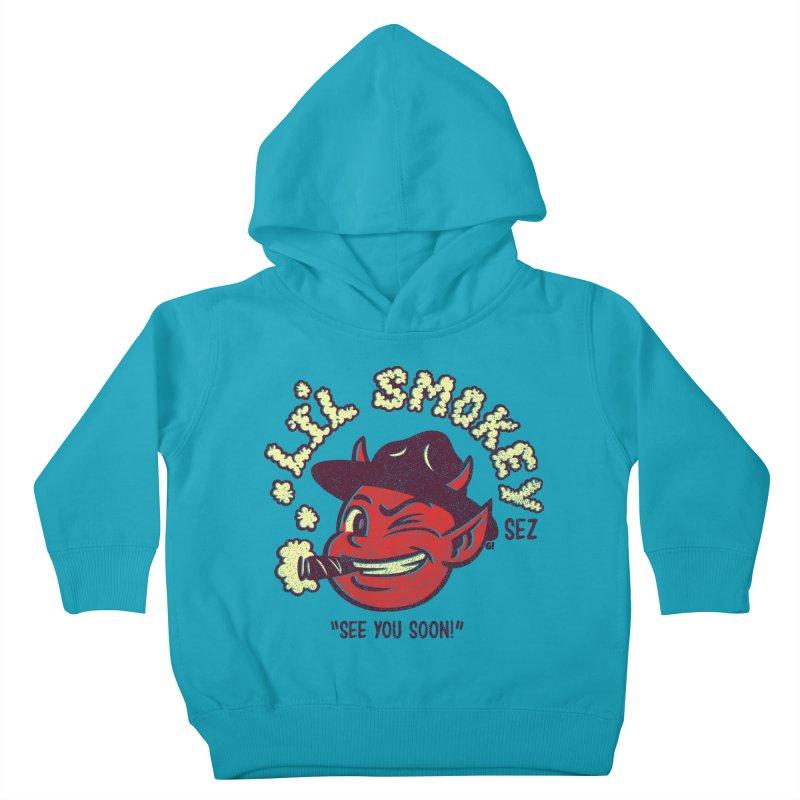 Li'L Smokey Kids Toddler Pullover Hoody by Gimetzco's Damaged Goods