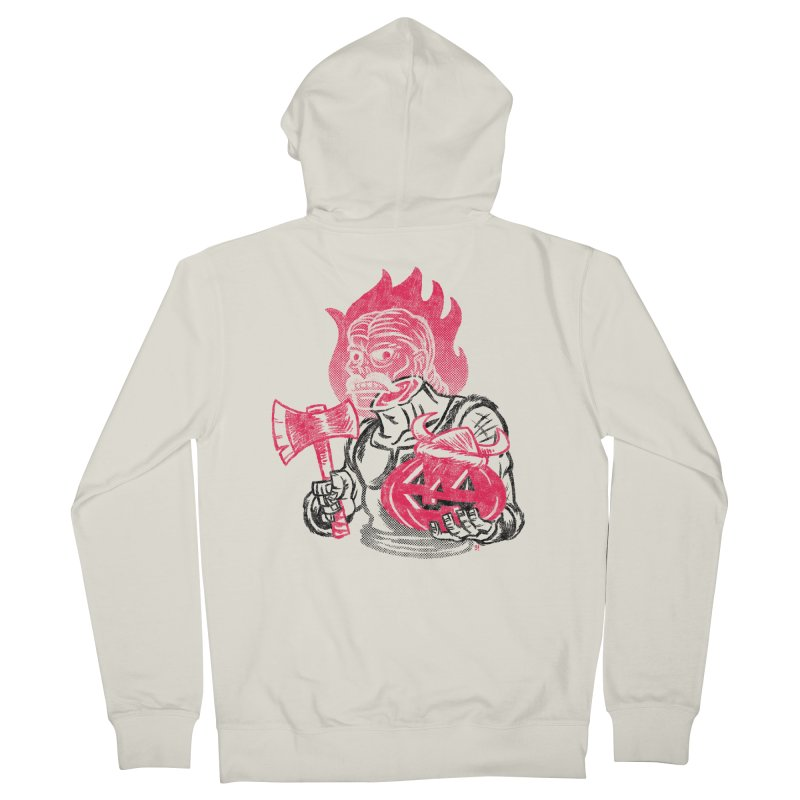 Headless Norseman Women's Zip-Up Hoody by Gimetzco's Artist Shop