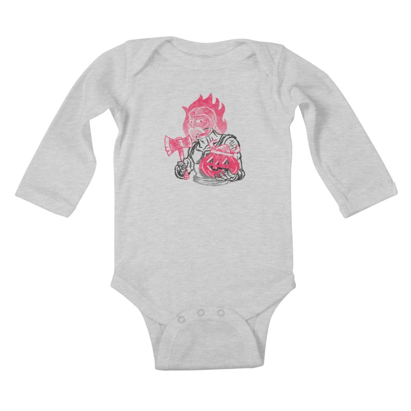 Headless Norseman Kids Baby Longsleeve Bodysuit by Gimetzco's Artist Shop