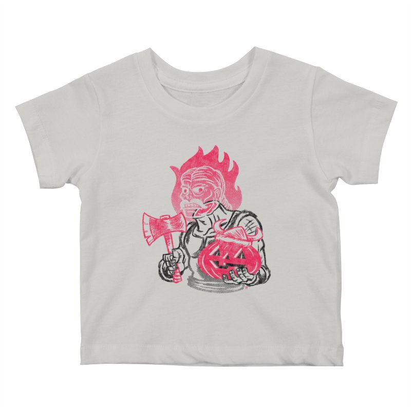 Headless Norseman Kids Baby T-Shirt by Gimetzco's Artist Shop