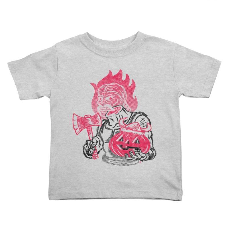 Headless Norseman Kids Toddler T-Shirt by Gimetzco's Artist Shop