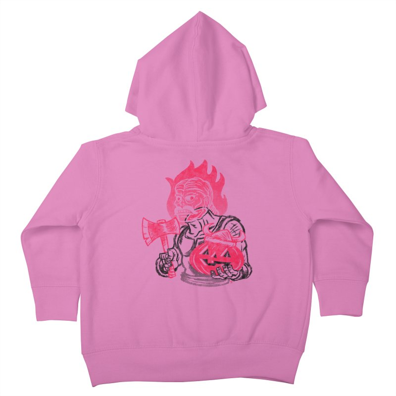 Headless Norseman Kids Toddler Zip-Up Hoody by Gimetzco's Artist Shop
