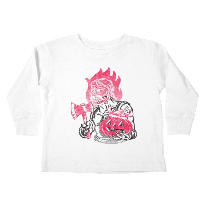 Headless Norseman Kids Toddler Longsleeve T-Shirt by Gimetzco's Artist Shop
