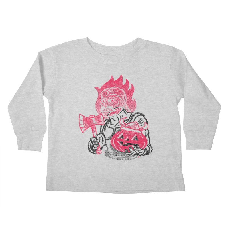 Headless Norseman Kids Toddler Longsleeve T-Shirt by Gimetzco's Artist Shop