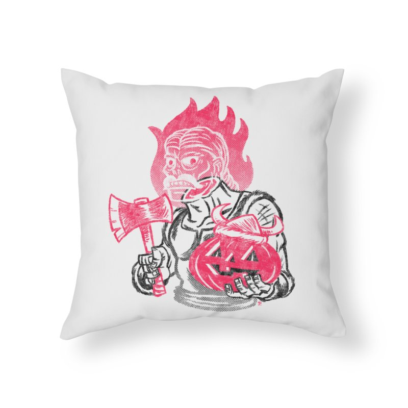Headless Norseman Home Throw Pillow by Gimetzco's Artist Shop