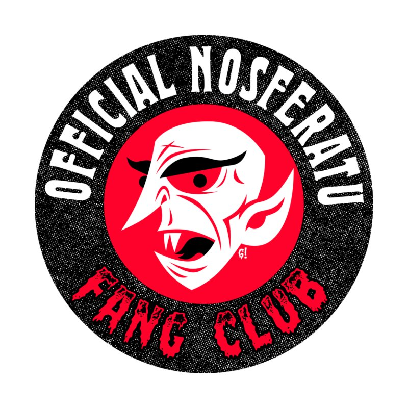 Nosferatu Fang Club Kids Toddler T-Shirt by Gimetzco's Damaged Goods