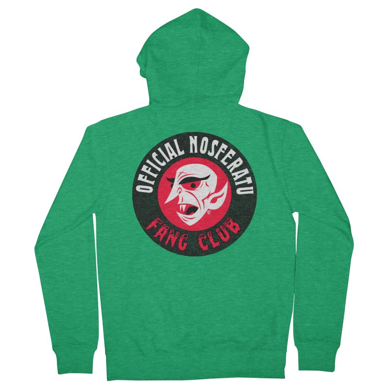 Nosferatu Fang Club Men's Zip-Up Hoody by Gimetzco's Artist Shop