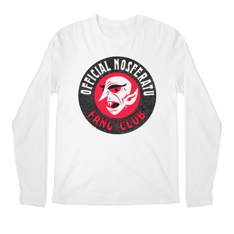 Nosferatu Fang Club Men's Longsleeve T-Shirt by Gimetzco's Artist Shop
