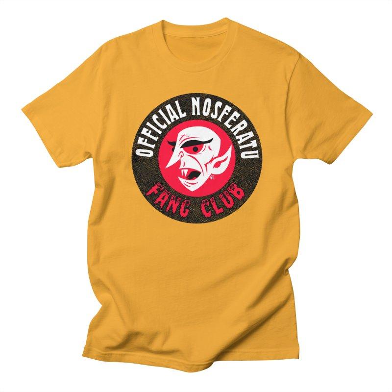 Nosferatu Fang Club Men's T-Shirt by Gimetzco's Artist Shop