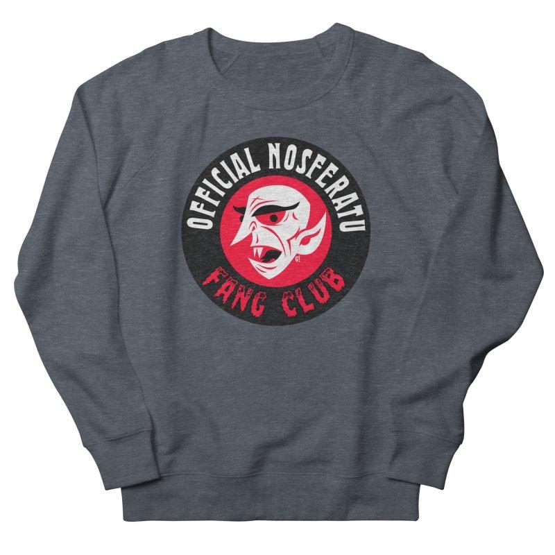 Nosferatu Fang Club Women's Sweatshirt by Gimetzco's Artist Shop