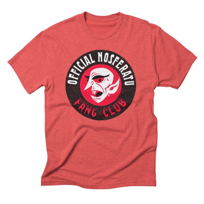 Nosferatu Fang Club Men's Triblend T-Shirt by Gimetzco's Artist Shop
