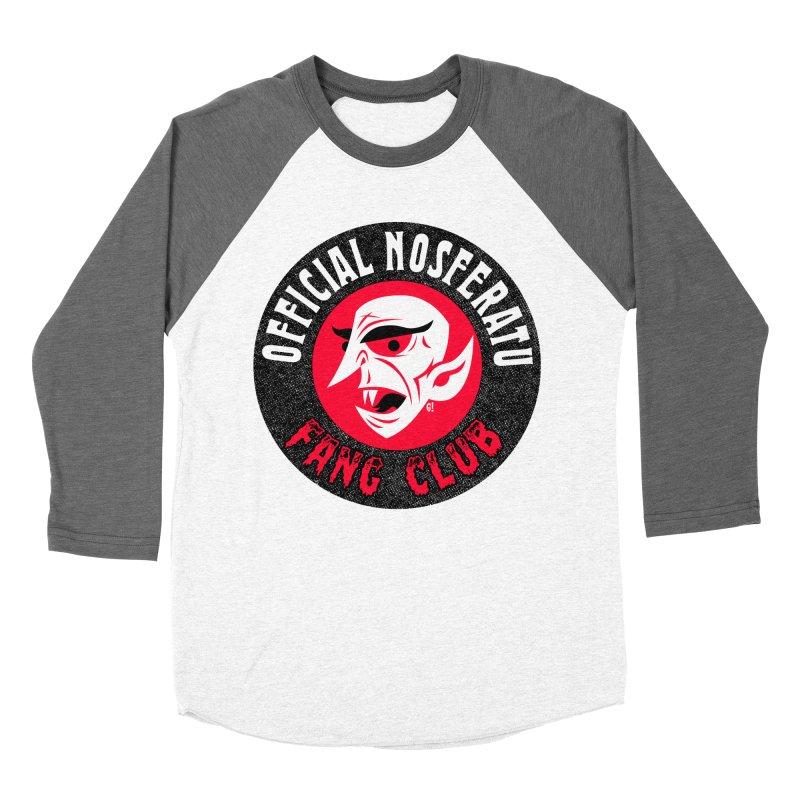 Nosferatu Fang Club Women's Baseball Triblend T-Shirt by Gimetzco's Artist Shop