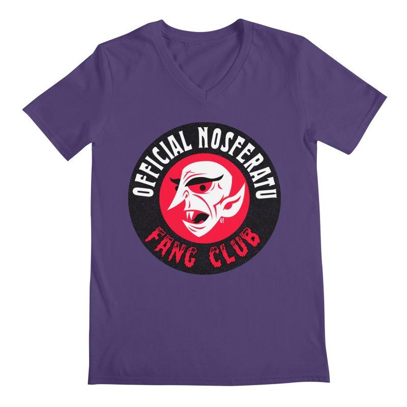Nosferatu Fang Club Men's V-Neck by Gimetzco's Artist Shop