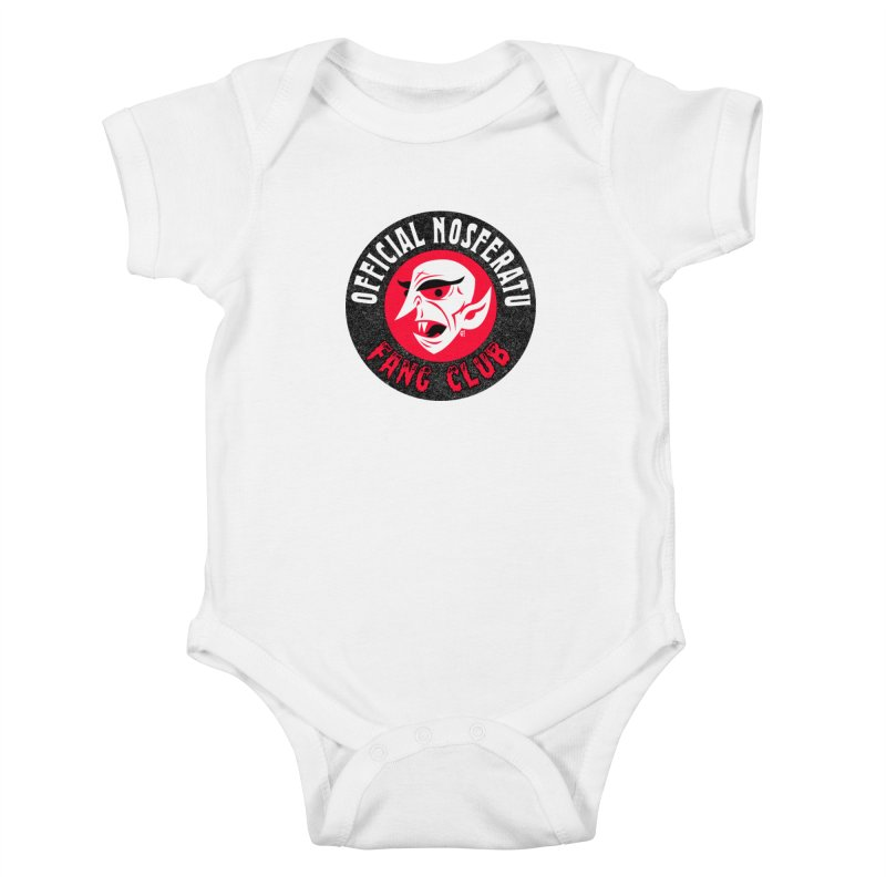 Nosferatu Fang Club Kids Baby Bodysuit by Gimetzco's Artist Shop