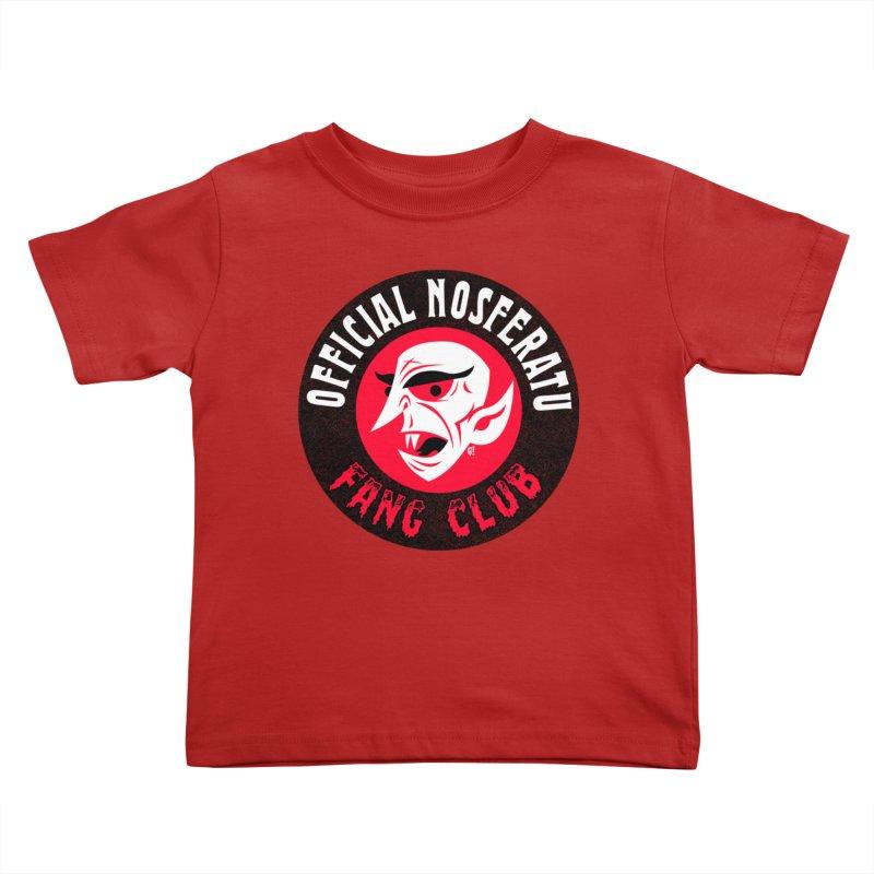 Nosferatu Fang Club Kids Toddler T-Shirt by Gimetzco's Artist Shop