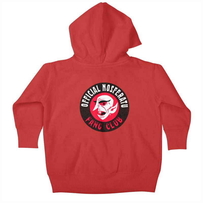 Nosferatu Fang Club Kids Baby Zip-Up Hoody by Gimetzco's Artist Shop