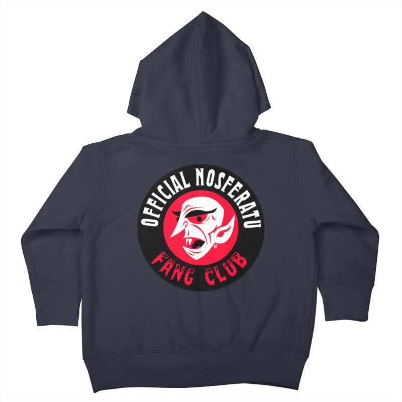 Nosferatu Fang Club Kids Toddler Zip-Up Hoody by Gimetzco's Artist Shop