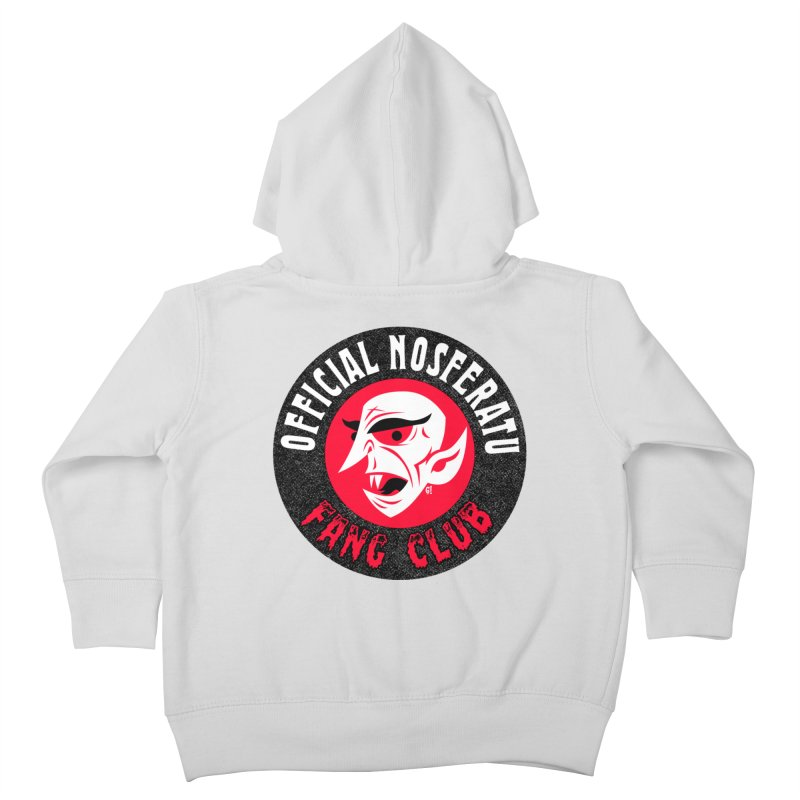 Nosferatu Fang Club Kids Toddler Zip-Up Hoody by Gimetzco's Damaged Goods