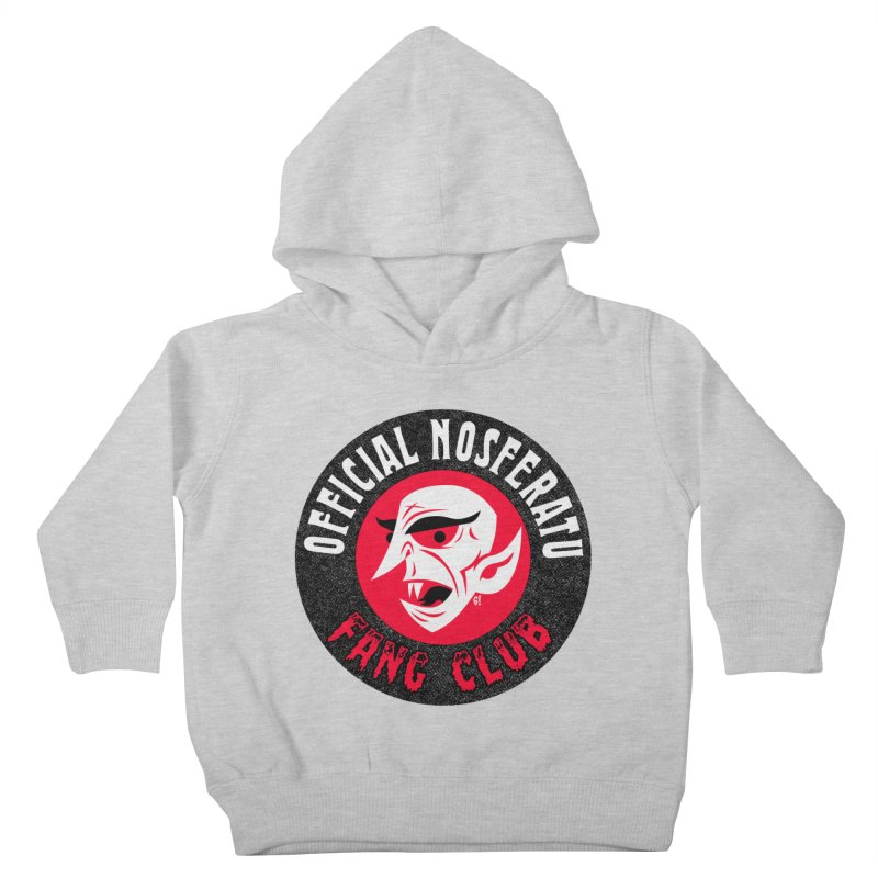 Nosferatu Fang Club Kids Toddler Pullover Hoody by Gimetzco's Damaged Goods