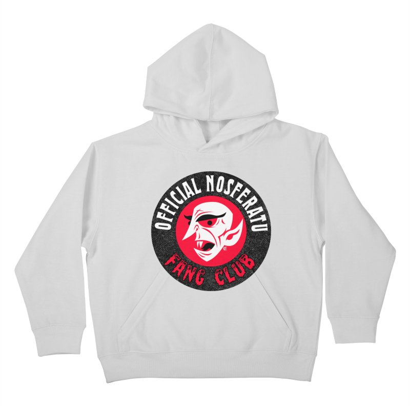 Nosferatu Fang Club Kids Pullover Hoody by Gimetzco's Damaged Goods