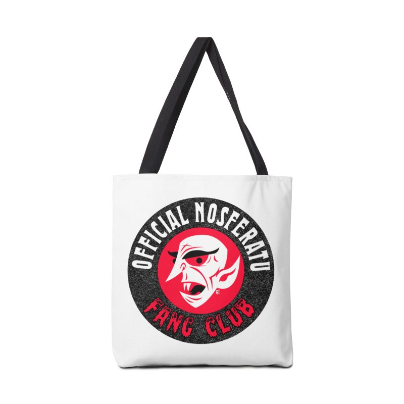 Nosferatu Fang Club Accessories Bag by Gimetzco's Artist Shop