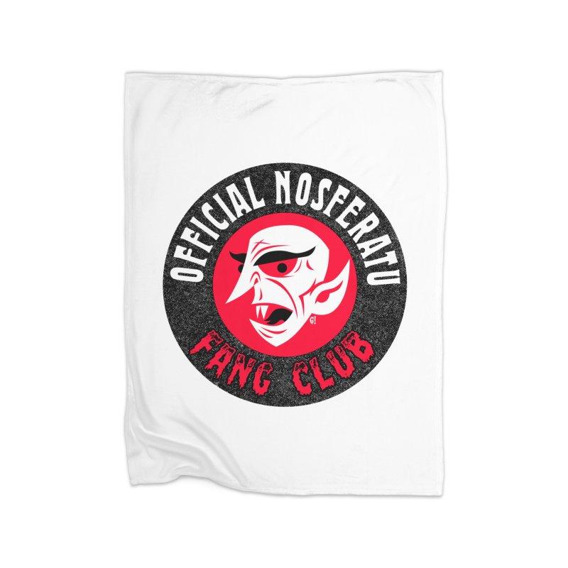Nosferatu Fang Club Home Blanket by Gimetzco's Damaged Goods