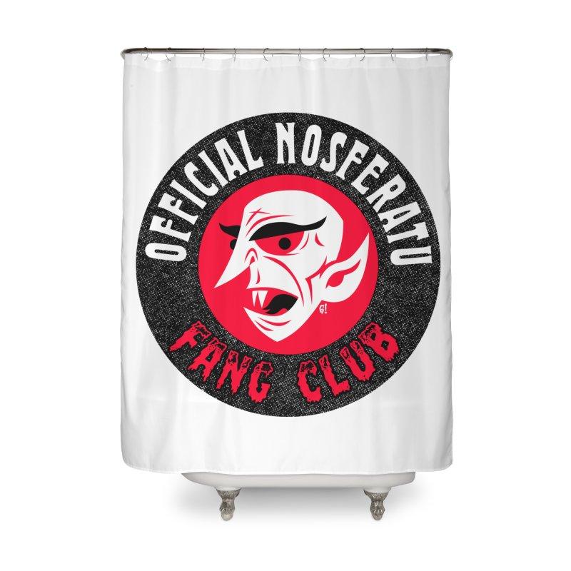 Nosferatu Fang Club Home Shower Curtain by Gimetzco's Artist Shop